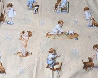 Quilting treasures child fabric