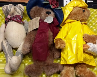 Barbs Bears Frankenmuth Michigan, Boyds Bears, Bearington Collection