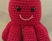 Amigurumi Octopus - Colorful - Plush Toy - Animal