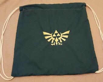 Legend of Zelda Drawstring Bag