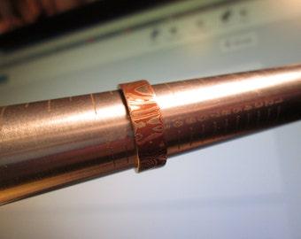 Mokume Gane ring, size 5 1/2