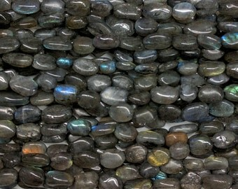 Labradorite Nugget Beads from Bead Mecca