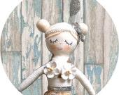 Silver Hanging Mermaid Doll