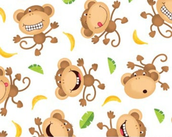 Cheeky Monkey Fabric
