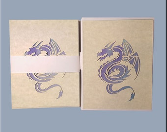 Dargon and Castle Note Cards