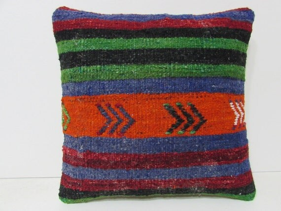 Eclectic Couch Pillows : eclectic kilim pillow decorative couch by DECOLICKILIMPILLOWS