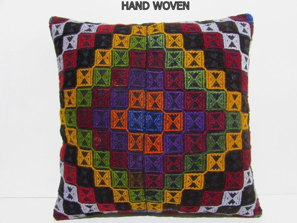 Large Floor Pillow Cases : kilim pillow 24x24 floor pouffe kilim pouffe 24x24 pillow case