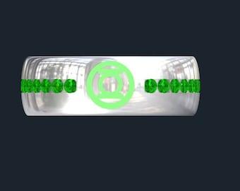 green lantern wedding band - Green Lantern Wedding Ring