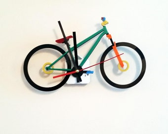 Bike Clock Perspex Gift Bicycle