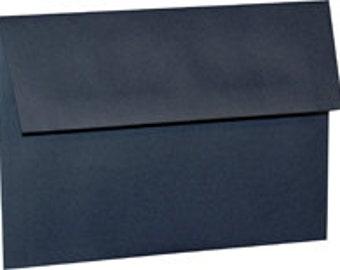 25 Navy Blue A-7 5X7 Envelope 5-1/4 x 7-1/4 Envelope