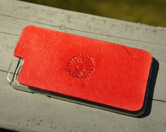 Leather iPhone 6s Case / iPhone 6 Case - Flower
