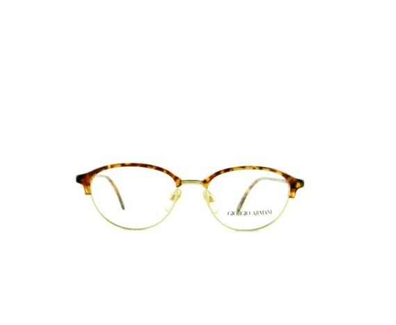 Vintage Armani Glasses Frames : Vintage Eye Glasses Frames Giorgio Armani 425 Oval Clubmaster