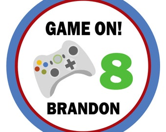 Video Game Shirt Iron on Transfer