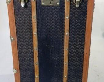 Goyard trunk wardrobe