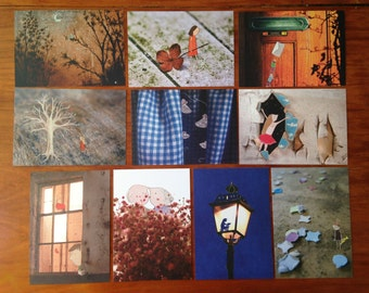 Set of 10 postcards