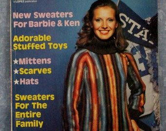 Lady's Circle Knitting & Crochet Guide Winter 1979 No. 24