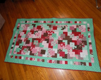 Toddler Bed Quilt