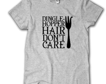 The Little Mermaid Shirt, Dingle-Hopper Hair Don't Care shirt, Ariel Shirt, Dingle Hopper shirt, Disney Shirt, Disney fan shirt