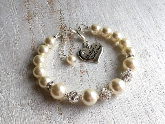 Mother Of The Groom Gift: Mother-of-the-Groom Gift Mother-of-the-Groom Bracelet