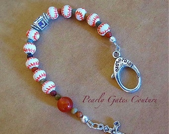 RESERVED 2 -Athletic Bag Sports Rosary-Chaplet-Personalized-Graduation-Confirmation Gift-Religious Gifts-Boy Birthday
