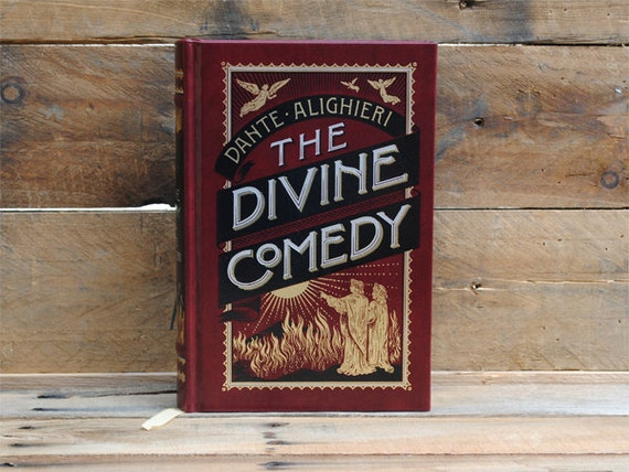 Hollow Book Safe - The Divine Comedy - Leather Bound