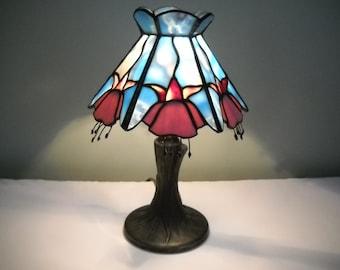 Stained Glass Tiffa Mini Lamp
