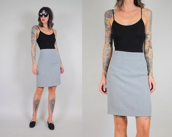 KARL LAGERFELD Wool Tweed Pencil Skirt