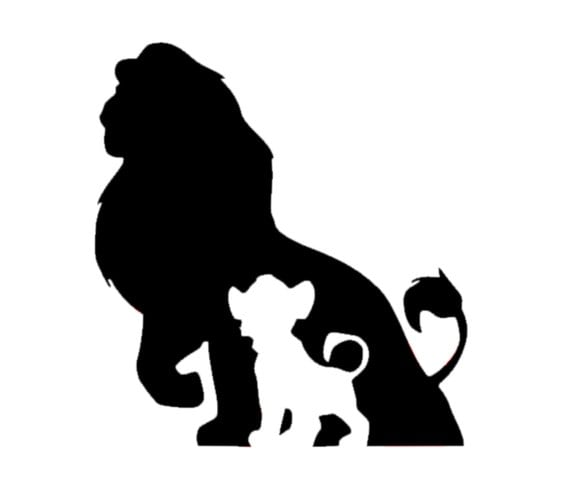 Simba Decal Disney Decal Disney Simba From Lion King