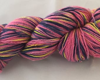 Jojo Hand Painted Merino Yarn Single Ply