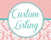 "CUSTOM LISTING 36 Mini ""J"" Toppers & 24 Drum Toppers"