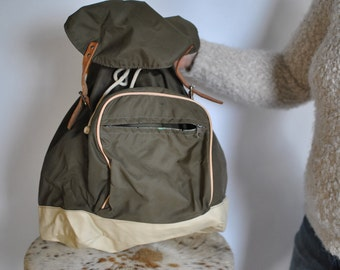 Vintage HANDMADE HICKING BACKPACK ......(368)