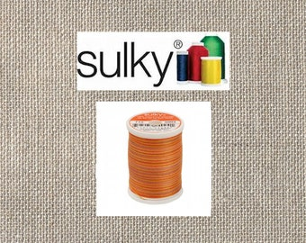 Sulky 2-ply 12wt - Blendables Cotton Thread - 330yds - Golden Flame - 713-4004 - By the Spool