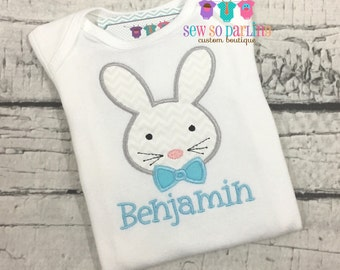 Baby Boy Easter Shirt - Easter Bunny Outfit - Boy Easter Shirt - Easter Bunny Shirt