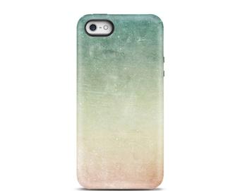 iPhone 5s case Ombre iPhone 5 case Ombre iPhone 6s case Ombre iPhone 6 case Ombre iPhone 6 Plus case iPhone 4s case, atmosphere peach mint