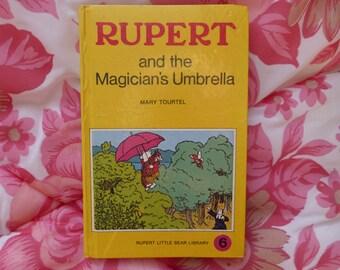 Rupert and the Magician's Umbrella 1970s Mary Tourtel