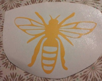 Bee Window Decal / Bee decal/ Bee Computer Decal/Bees/ Bee/ Bees For Auto Windows/Yeti Cup Bee Decals
