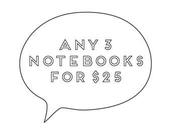 Notebooks / Set of 3