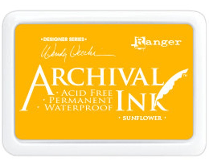 SUNFLOWER Wendy Vecchi Archival Ink Pad by Ranger