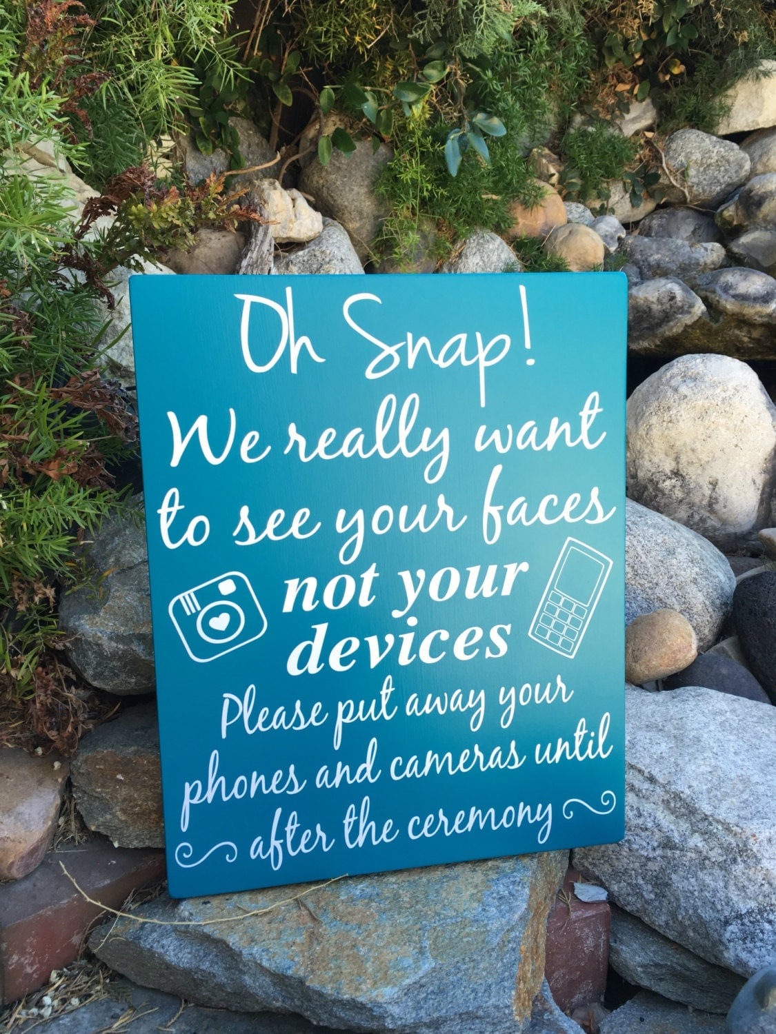 unplugged wedding sign unplugged ceremony sign wedding wood sign wedding ceremony decor signage no cell phone