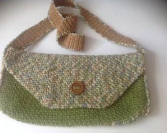 Crossbody purse, crochet - Fall Fashion