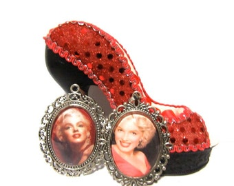 Marilyn Monroe Pendants and Chains