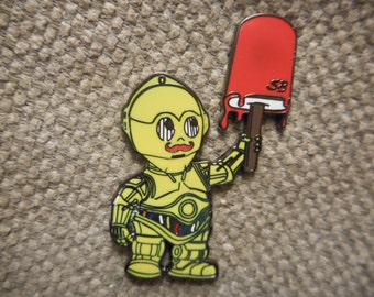 """ON SALE """"C-3PO"""" Pin (Free Shipping)"""