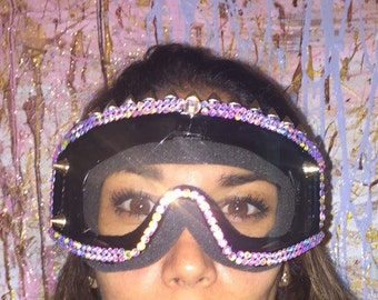 Burning Man goggles by Leiluna. Custom Colors  Free 2 day shipping around USA