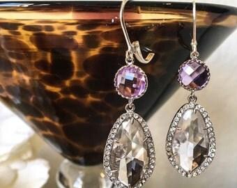 Lilac bridal jewelry | Etsy