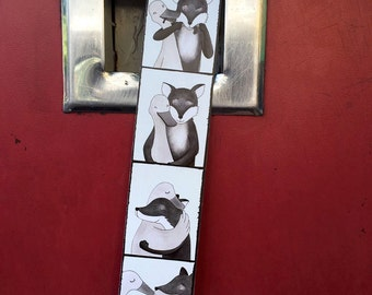 photo strip fox & goose