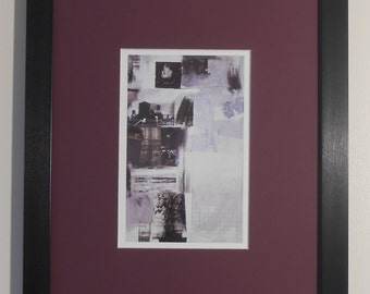 """Mounted and Framed - Almanac Print by Robert Rauschenberg - 16"""" x 12"""""""