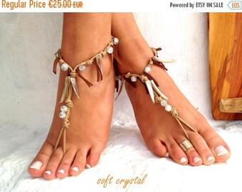 SUMMER SALES Hippie ho, Barefoot sandals, wedding sandals, boho barefoot sandals, barefoot sandles, crochet barefoot sandals, , yoga, anklet