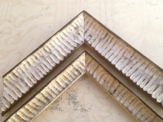 3 4 Quot Distressed Silver Picture Frame 4x4 4x6 5x5 5x7