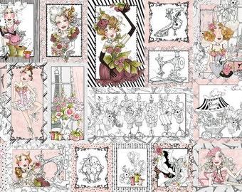 Loralie Designs - Sew Paree Fabric