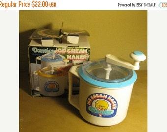 donvier ice cream maker manual